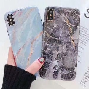 Accessories - NEW iPhone X/XS/7/8/7+/8+ Marble Full Cover Case